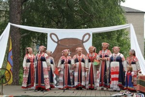 Soikulan laulu - kuoro Viistinässä vuonna 2012.