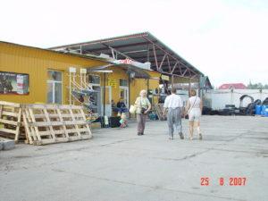 Toksovan kirkonkylä vuonna 2007.
