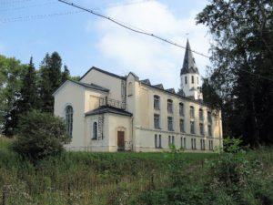 Toksovan kirkko vuonna 2008.