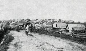 Himakkalan kylä vuonna 1911.