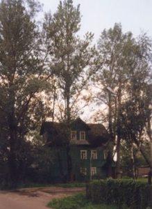 Hulilan talo vuonna 1988.