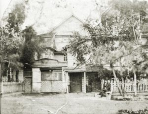 Hulilan talo Vanhamoision kylässä. Pietari Luukkosen kotitalo.