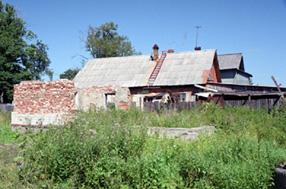 Kaapre Tynnin kotitalo Ala-Sakoskassa