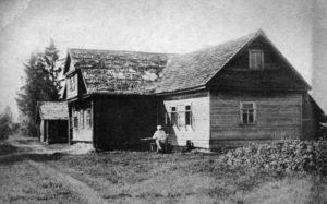 Klemettilän talo Järvisaarella.