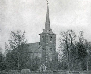 Kolppanan kirkko ennen toista maailmansotaa.