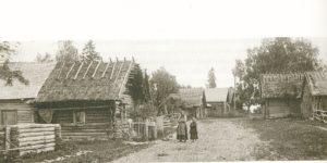Kupanitsan kylä 1900-luvun alussa.