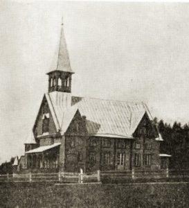 Haapakankaan vanha kirkko
