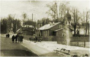 Aikaisemmin Kelton keskustassa sijainnut ortodoksikirkko. Nykyisinkin kylässä on tsasouna.