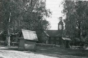 Rääpyvän kirkko sijaitsi Rumpalin kylässä.