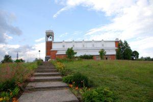 Kelton vuonna 1992 valmistunut kirkko.