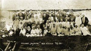 Kolhoosi Rajantuki vuonna 1933 Miikkulaisten Alakylässä.