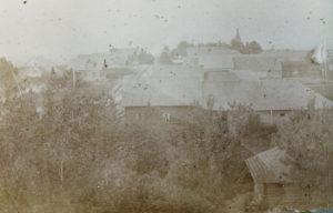 Kuttusin kylää 1900-luvun alussa