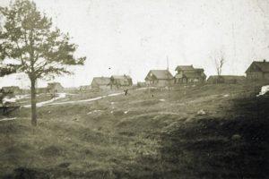 Myllynkylän taloja ennen jatkosotaa