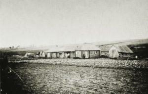 Saunoja Luukkasin kylässä